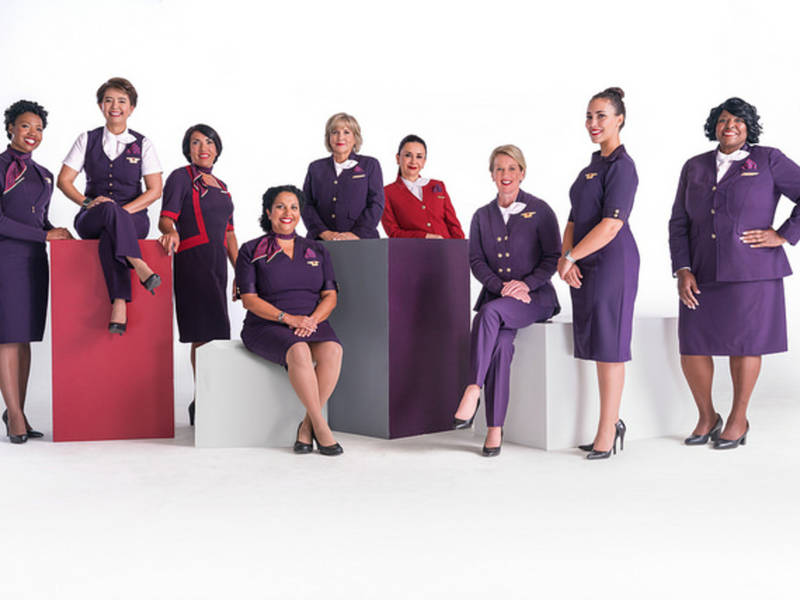 Delta Air Lines New Passport Plum Uniforms Take Flight May 29