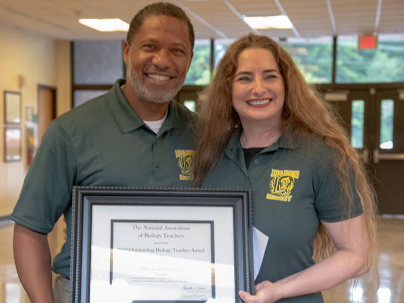 Lithia Springs High Teacher Named GA Biology Teacher Of Year ...