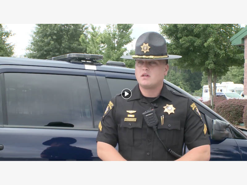 Back In Black: New Uniforms, Patch Coming To Forsyth Deputies