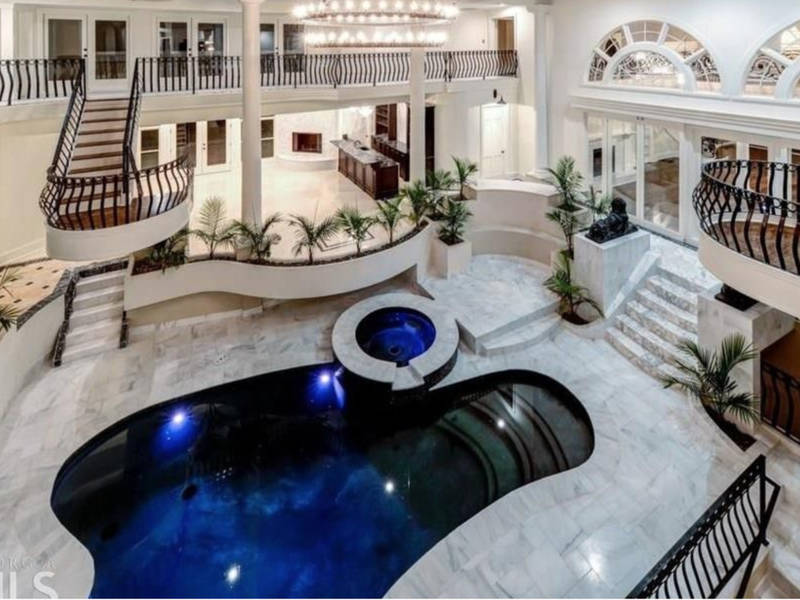GA Luxury Homes: Rapper Young Thugu0027s Mansion, Equestrian Estate