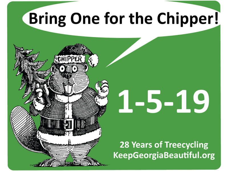 Keep Douglasville Beautiful To Hold 'Bring One For The Chipper'