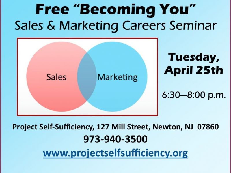 free seminar about sales and marketing careers hopatcong nj patch. Black Bedroom Furniture Sets. Home Design Ideas