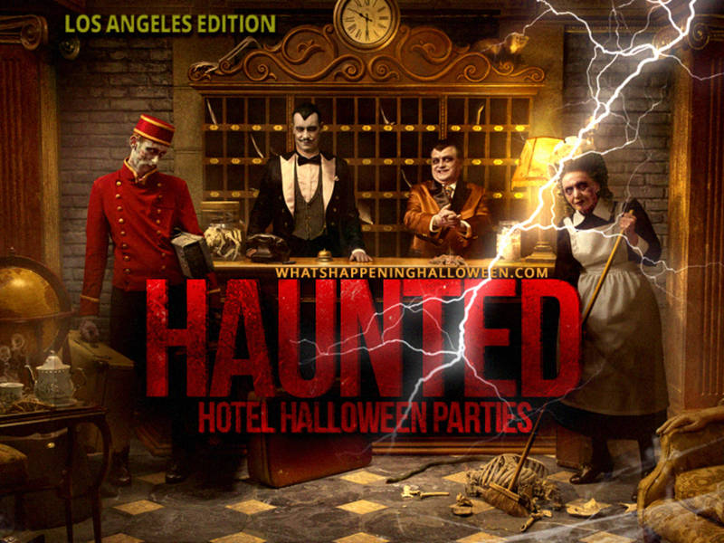 best hotel halloween parties in los angeles