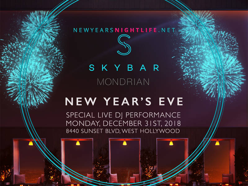 NYE 2019 | West Hollywood Best New Year's Eve Party Events ...