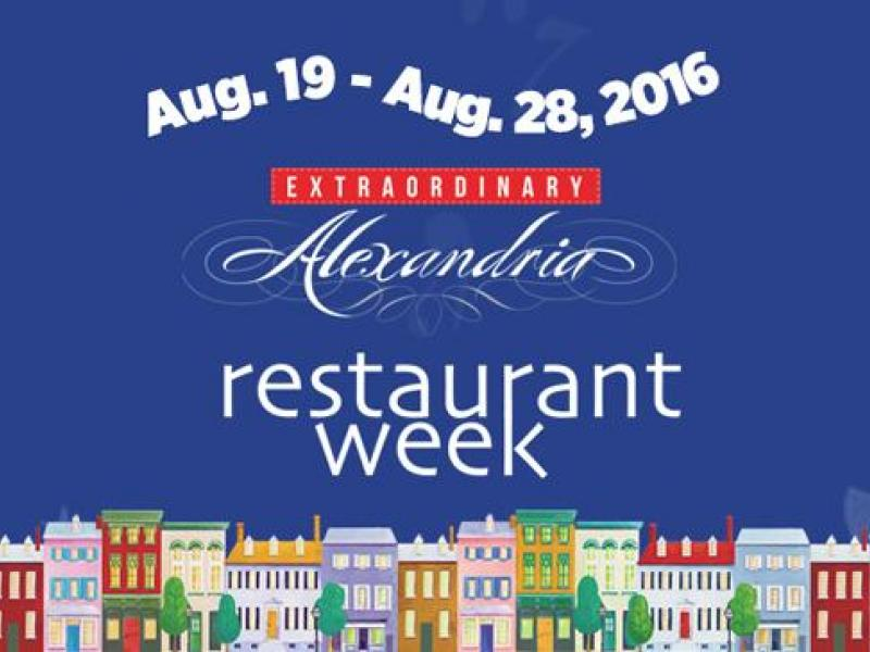 Alexandria Restaurant Week Summer