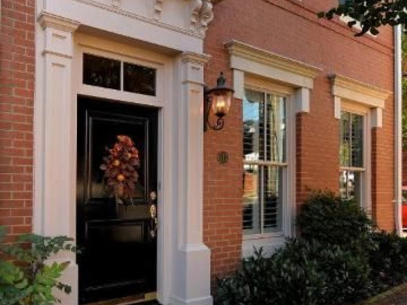 Old Town Alexandria Wow House End Townhouse With