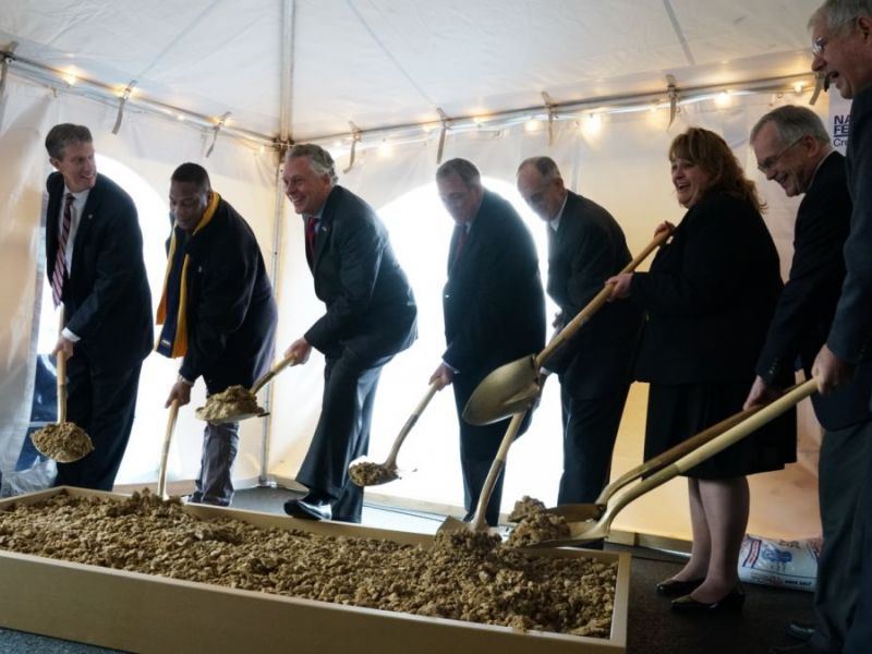 Navy federal credit union ground breaking ceremony tuesday - Garden state federal credit union ...