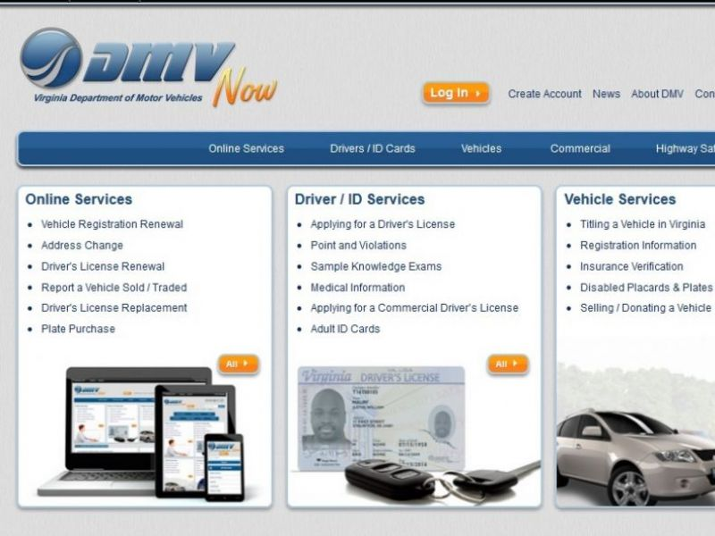 Virginia DMV Website Now Shows Estimated Wait Time For Services ...