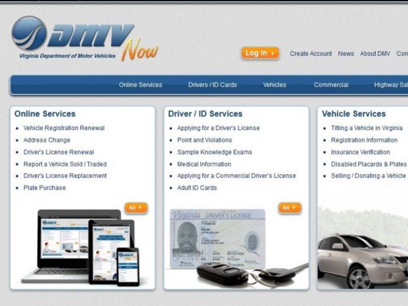 Virginia DMV Website Now Shows Estimated Wait Time For Services ...