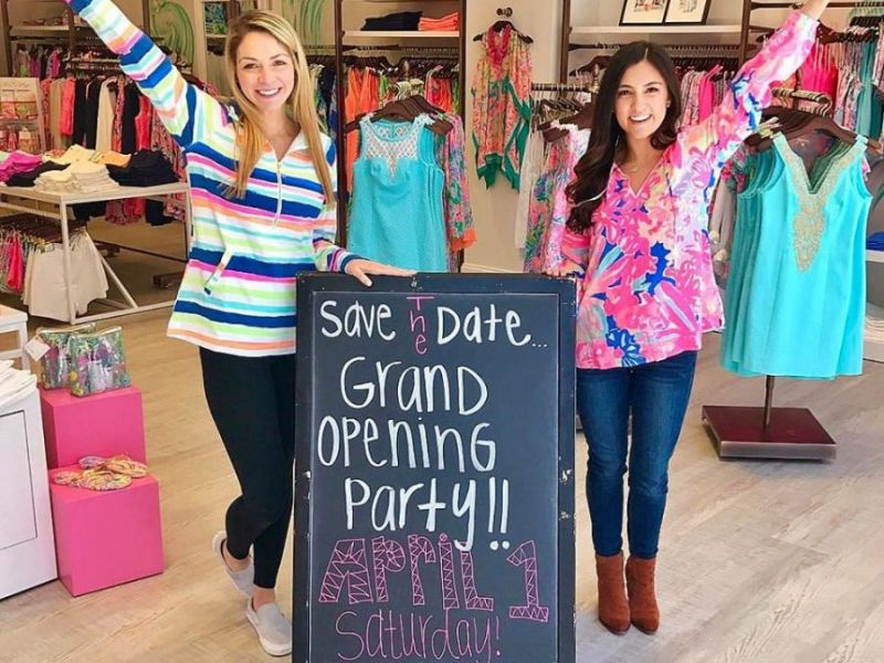 New Lilly Pulitzer Signature Pink Palm To Hold Grand Opening Saay