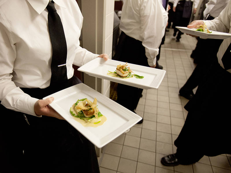 COD Students Creating Culinary Delights for Lunch and Dinner