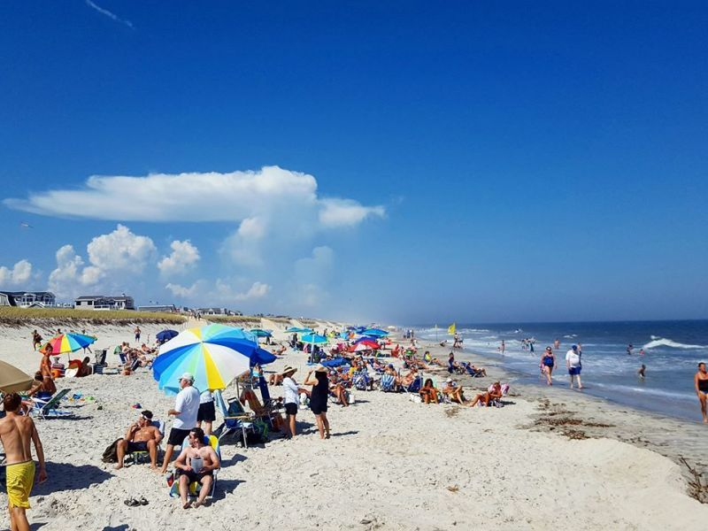 Coastal Monmouth County Beach Weather Report For Aug 20 2016