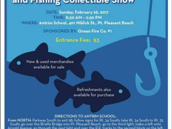 Fishing flea market and fishing collectible show this for Fishing flea market nj