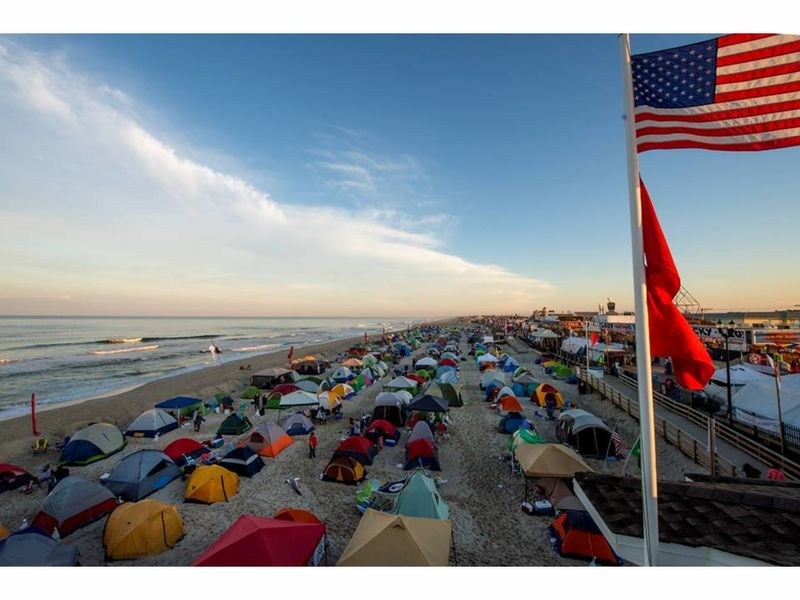 Registration For Seaside Heights Beach Camping Nights Coming Up On Monday