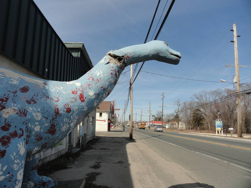 Dino The Bayville Dinosaur Slated For A Makeover In The