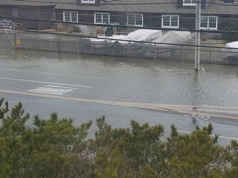 High Tide Long Beach Island Nj