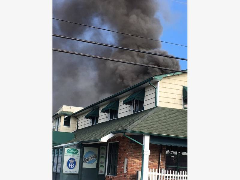 Caffrey's Massive Fire Is Still Under Investigation: Lacey Chief-0