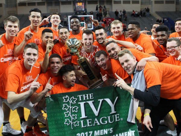 NCAA Tournament 2017 Princeton Men Win Ivy League Basketball Title