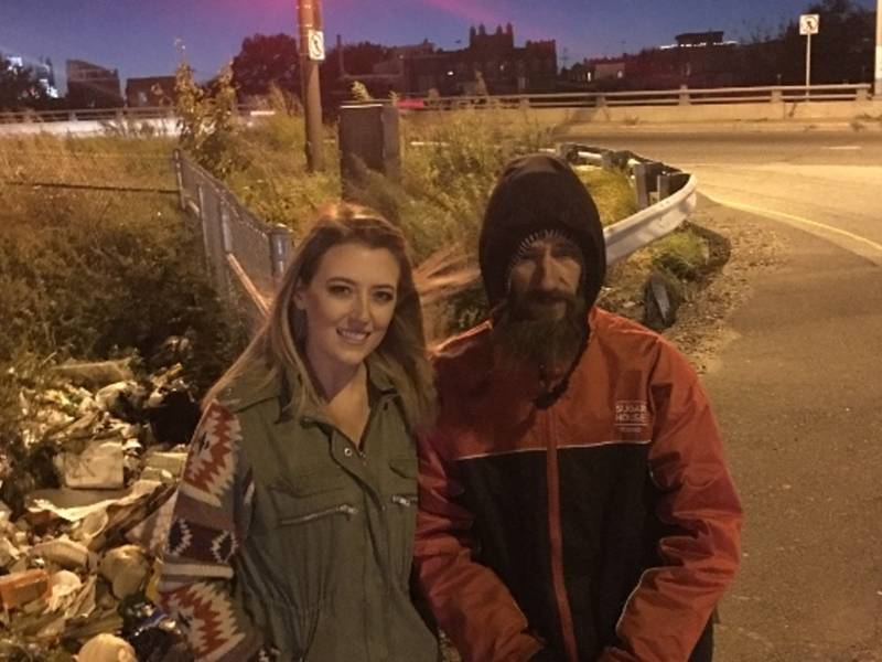 Woman Raises $36K For Homeless Man Who Helped Her Get Home