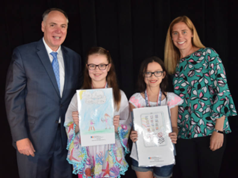 Cinnaminson Student's Art Will Be Seen By 40,000 Fourth Graders
