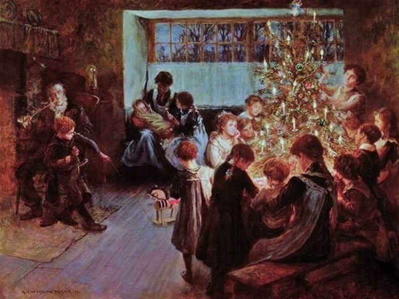 Image result for historical christmas
