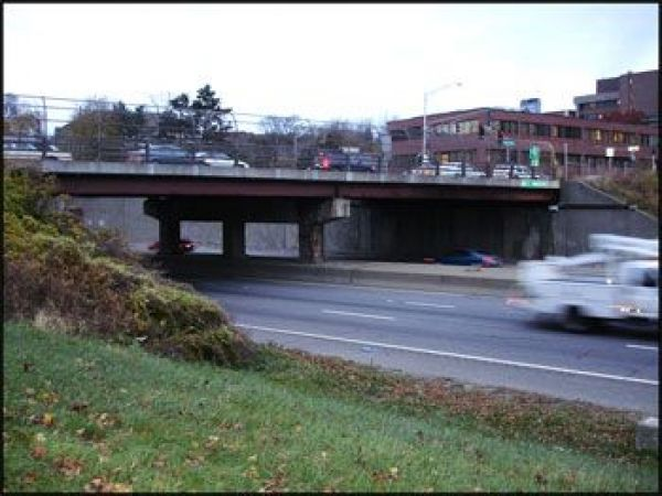 belmont street bridge finished almost and open