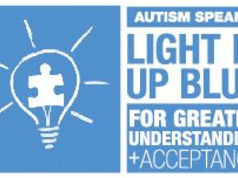 Wonderful Natick To Light It Up Blue For Autism Awareness Nice Design